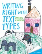 Cover for Writing Right with text Types