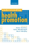 Cover for Understanding Health Promotion