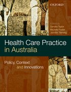 Cover for Health Care Practice and Policy in Australia