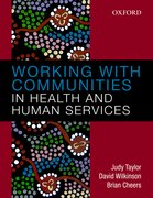 Cover for Working with Communities in Health and Human Services