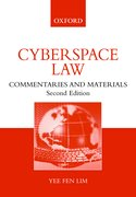 Cover for Cyberspace Law