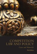 Cover for Competition Law and Policy: Cases and Materials, 3rd edition