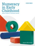 Cover for Numeracy in Early Childhood