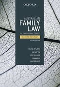 Cover for Australian Family Law