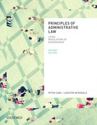 Cover for Principles of Administrative Law, Second Edition