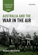 Cover for Australia and the War in the Air: Volume I - The Centenary History of Australia and the Great War