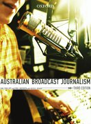 Cover for Australian Broadcast Journalism, Third Edition