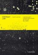 Cover for Contract Law, Fourth Edition