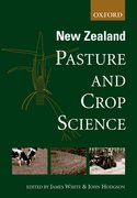 Cover for New Zealand Pasture and Crop Science