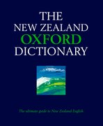 Cover for The New Zealand Oxford Dictionary