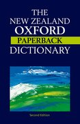 Cover for The New Zealand Oxford Paperback Dictionary