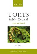 Cover for Torts in New Zealand