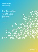Cover for The Australian Health Care System, Fifth Edition