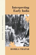Cover for Interpreting Early India