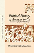 Cover for Political History of Ancient India