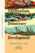 Cover for Nationalism, Democracy and Development