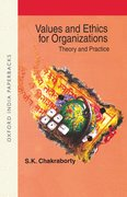 Cover for Values and Ethics for Organizations
