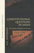 Cover for Constitutional Questions in India