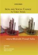 Cover for Iron and Social Change in Early India