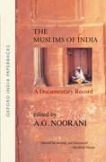 Cover for The Muslims of India