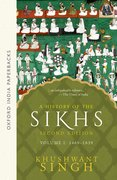 Cover for A History of the Sikhs Vol 1 (SECOND EDITION)