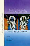 Cover for Religious Movements in South Asia 600-1800
