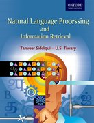 Cover for Natural Language Processing and Information Retrieval