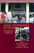Cover for Local Governance in India