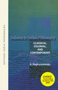 Cover for Debates in Indian Philosophy