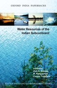 Cover for Water Resources of the Indian Subcontinent