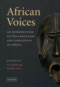 Cover for African Voices
