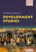 Cover for Introduction to Development Studies