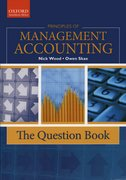 Cover for Principles of Management Accounting: The Question Book