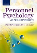 Cover for Personnel Psychology: An Applied Perspective