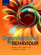 Cover for Organisational Behaviour