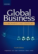 Cover for Global Business Environments and Strategies