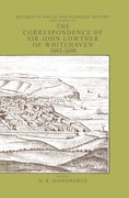 Cover for The Correspondence of Sir John Lowthers of Whitehaven 1693-1698