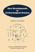 Cover for New Developments in Archaeological Science