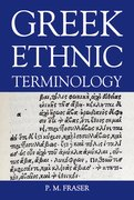 Cover for Greek Ethnic Terminology
