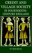 Cover for Credit and Village Society in Fourteenth-Century England