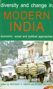 Cover for Diversity and Change in Modern India