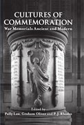 Cover for Cultures of Commemoration