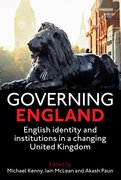 Cover for Governing England