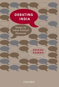 Cover for Debating India