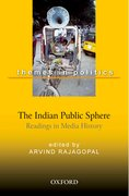 Cover for The Indian Public Sphere