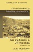 Cover for War and Society in Colonial India