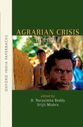 Cover for Agrarian Crisis in India