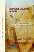 Cover for Inclusive Growth in India