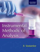 Cover for Instrumental Methods of Analysis