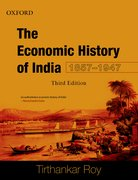 Cover for Economic History of India, 1857-1947